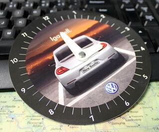 VW parkkikello