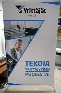 X-banner Yrittäjät