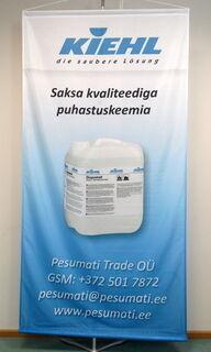 Banderolli lippuneuloksesta KIEHL