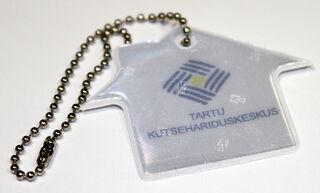 Talon muotoinen heijastin Tartu Kutsehariduskeskus