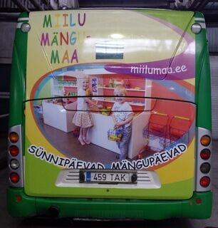 Tarra bussilla Miilu mängumaa
