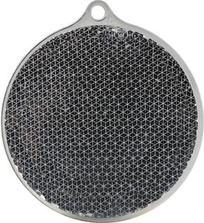 Reflector round 55x61mm black