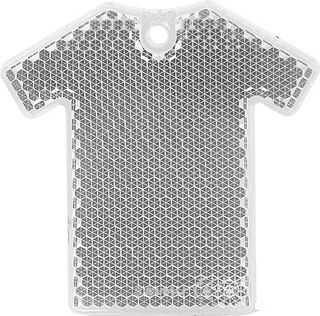 Reflector T-shirt 64x63mm clear
